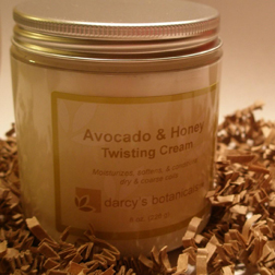 Darcy's Botanicals Avocado & Honey Twisting Cream